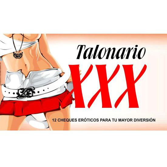 Comprar TALONARIO XXX DIABLO PICANTE