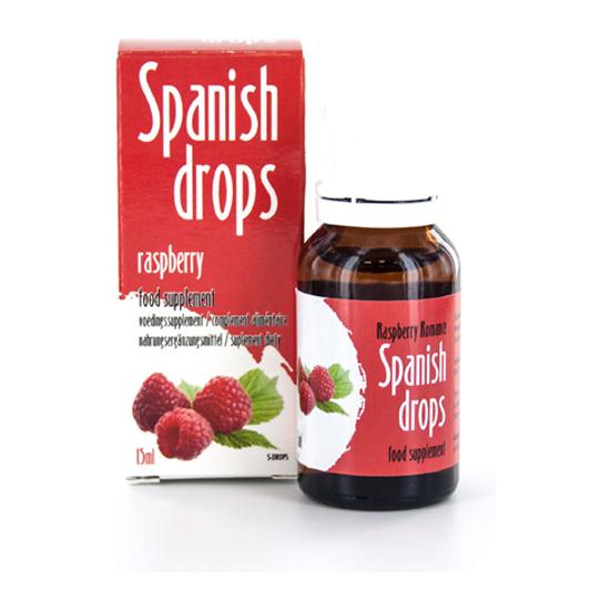 Comprar SPANISH FLY GOTAS DEL AMOR FRAMBUESA ROMANTICA COBECO PHARMA