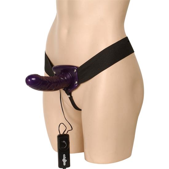 Comprar ALIAS VIBRATING FEMALE STRAP-ON SEVEN CREATIONS JUGUETES XXX ARNESES