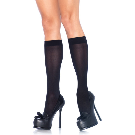 Comprar LEG AVENUE CALCETINES ALTOS NEGRO